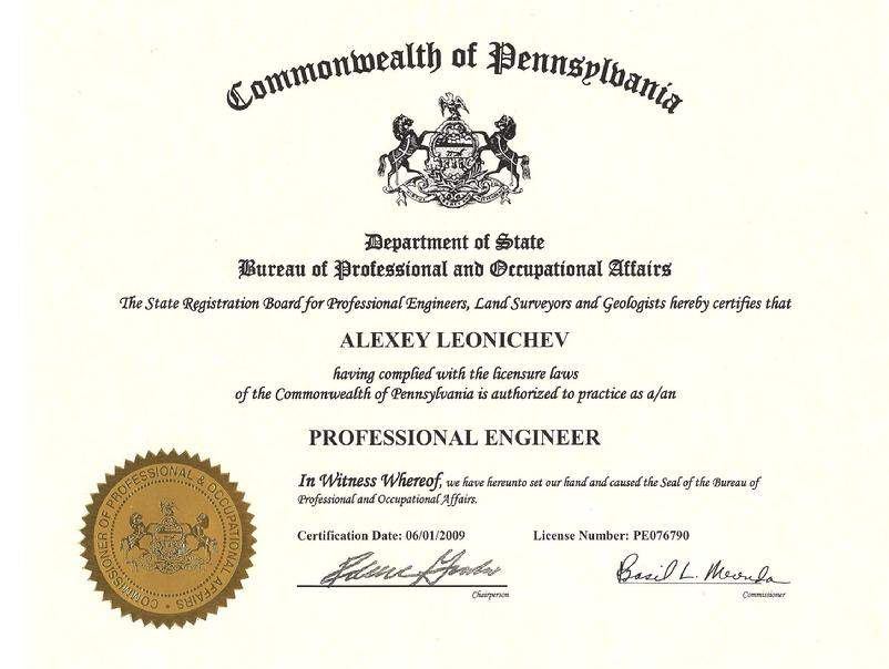 Structural Engineer Certification Free Professional Resume